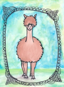 Alpaca Watercolor Ink
