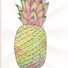 pineapple watercolor1_20160721_0001