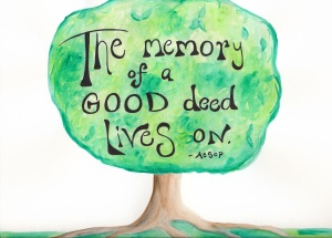 Tree Memory of Good Deed