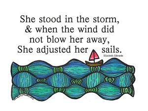 Sailboat Quote Watercolor JPEG