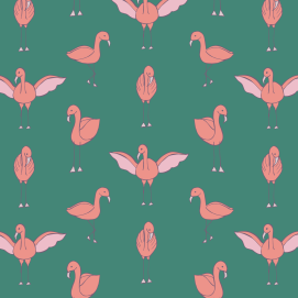 Flamingo Green